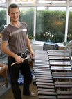 Xylophone restoration project - End product.   CLICK below to link to Instruments page